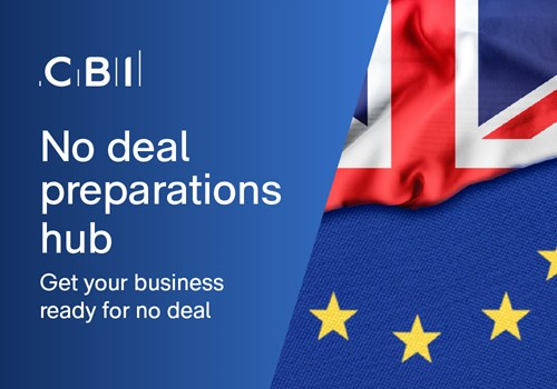 No deal preparations hub