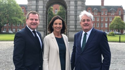 Carolyn Fairbairn in Dublin: no deal Brexit would put all-island economy in peril