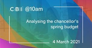 CBI @10am: Analysing the Chancellor's Spring Budget